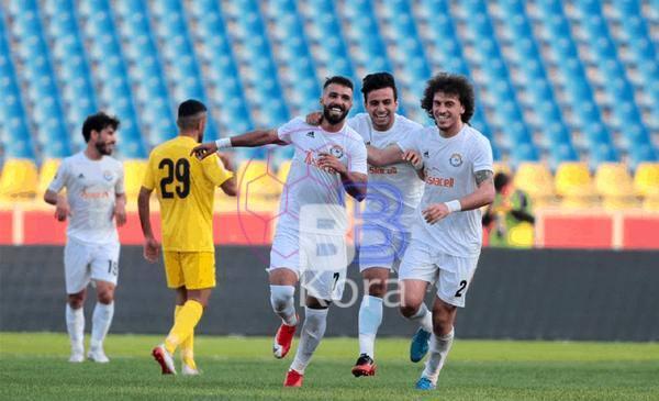 نتيجة مباراة الزوراء وأربيل اليوم في كأس العراق