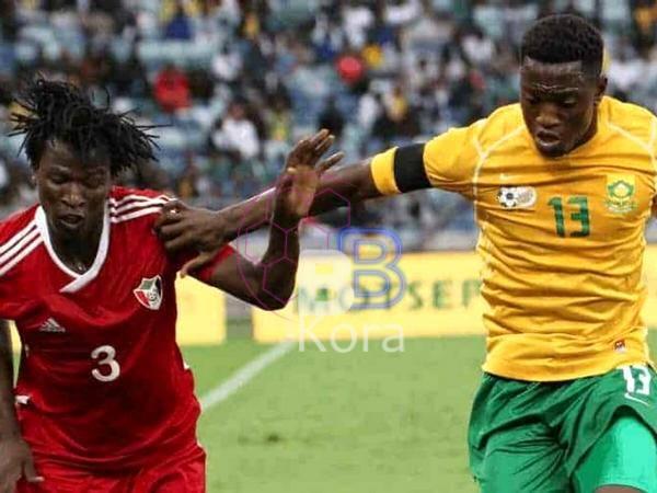 نتيجة مباراة السودان وجنوب إفريقيا اليوم في تصفيات كأس أمم أفريقيا