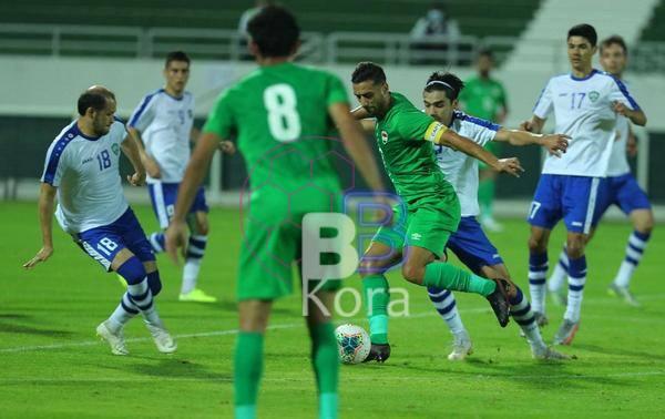 نتيجة مباراة العراق وأوزبكستان اليوم في مباراة ودية