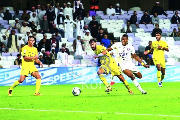 نتيجة مباراة العين والوصل اليوم في دوري الخليج العربي