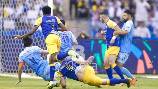 نتيجة مباراة النصر والباطن اليوم في الدوري السعودي