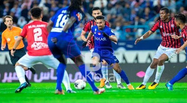 نتيجة مباراة الهلال والرائد اليوم في الدوري السعودي