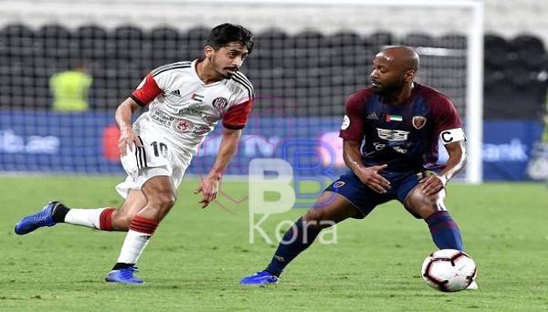 نتيجة مباراة الوحدة والجزيرة اليوم في الدوري الإماراتي