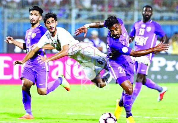 نتيجة مباراة الوحدة والعين اليوم في دوري الخليج العربي