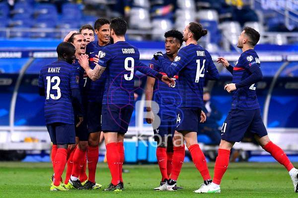 نتيجة مباراة فرنسا وكازاخستان اليوم في تصفيات كأس العالم