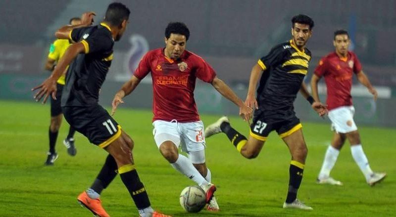 نتيجة مباراة سيراميكا والانتاج الحربي الدوري المصري
