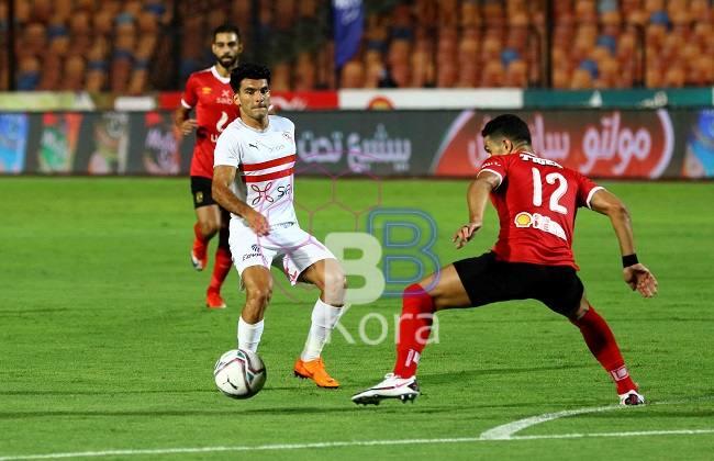 نتيجة وملخص مباراة الأهلي والزمالك الدوري المصري