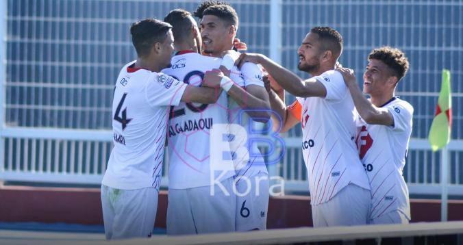 نتيجة وملخص مباراة شباب المحمدية وأولمبيك آسفي الدوري المغربي