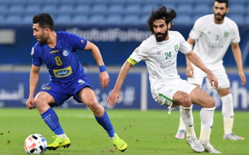 نتيجة وملخص مباراة الأهلي واستقلال طهران دوري أبطال آسيا