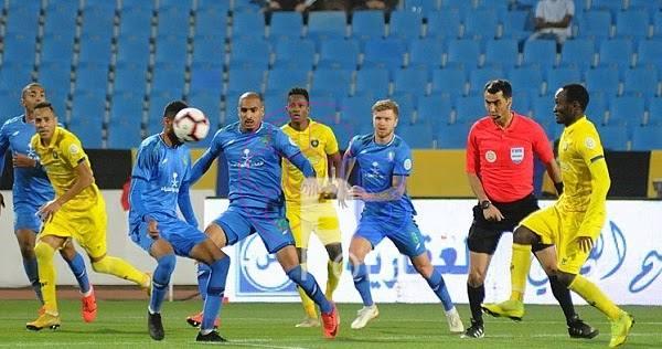 نتيجة مباراة التعاون والفتح الدوري السعودي