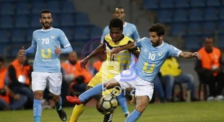 نتيجة مباراة الحسين إربد وشباب العقبة الدوري الاردني