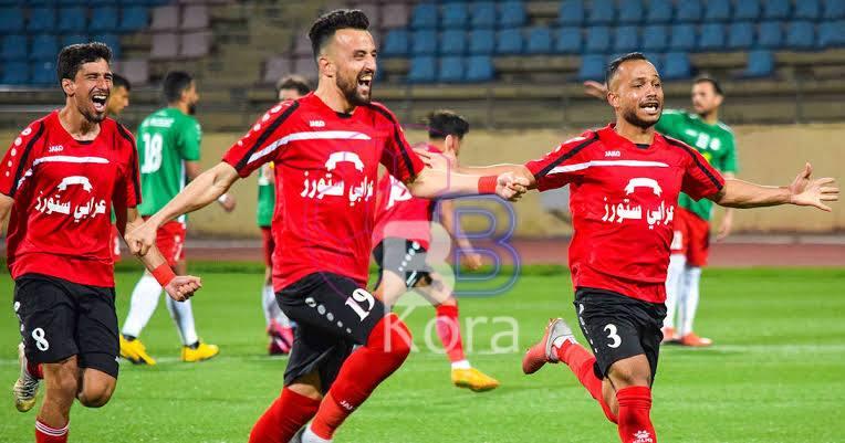 نتيجة مباراة الوحدات والجليل الدوري الاردني